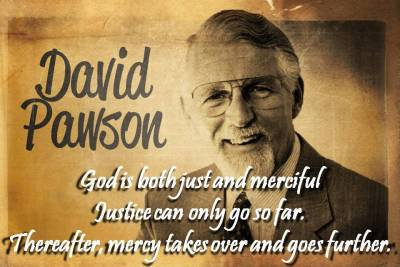 God both just and merciful (David Pawson) on thisiswhatihavetosay