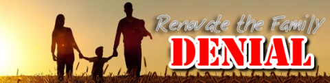 Renovate the family denial banner with darryl schoeman and thisiswhatihavetosay in conjunction with Glenwood Community Church (Durban, South Africa)